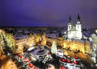 Piata de Craciun Praga Circuit autocar